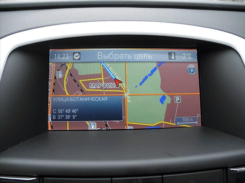 Opel Astra GTC 2012 навигация