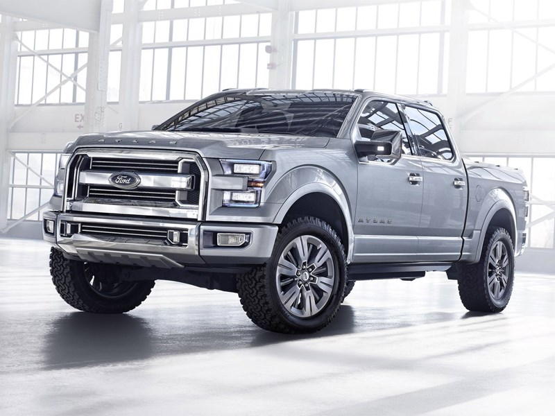 Ford Atlas 2013 концепт
