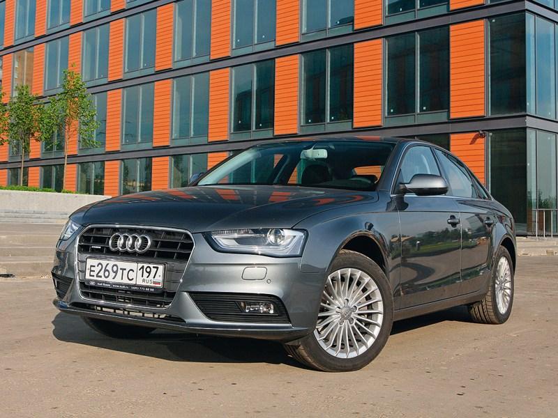 Audi A4 2012 вид спереди