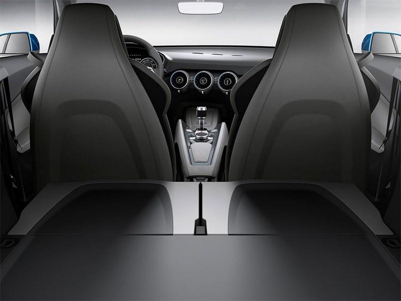 Audi Allroad Shooting Brake Concept 2014 сложенный задний ряд