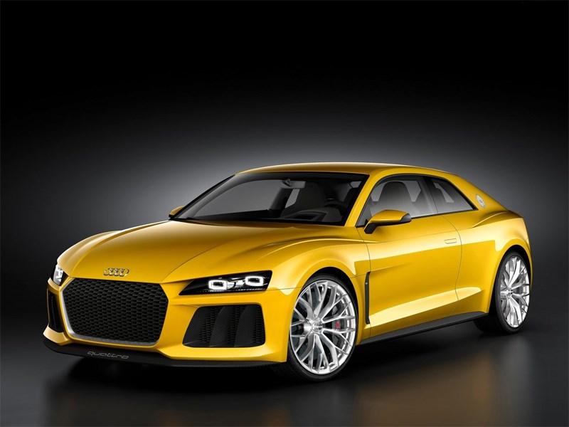 Новый Audi Sport Quattro - Audi Sport quattro Concept 2013 вид спереди