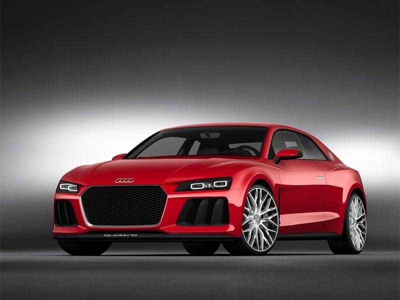Audi Sport quattro Laserlight Concept 2014 вид спереди