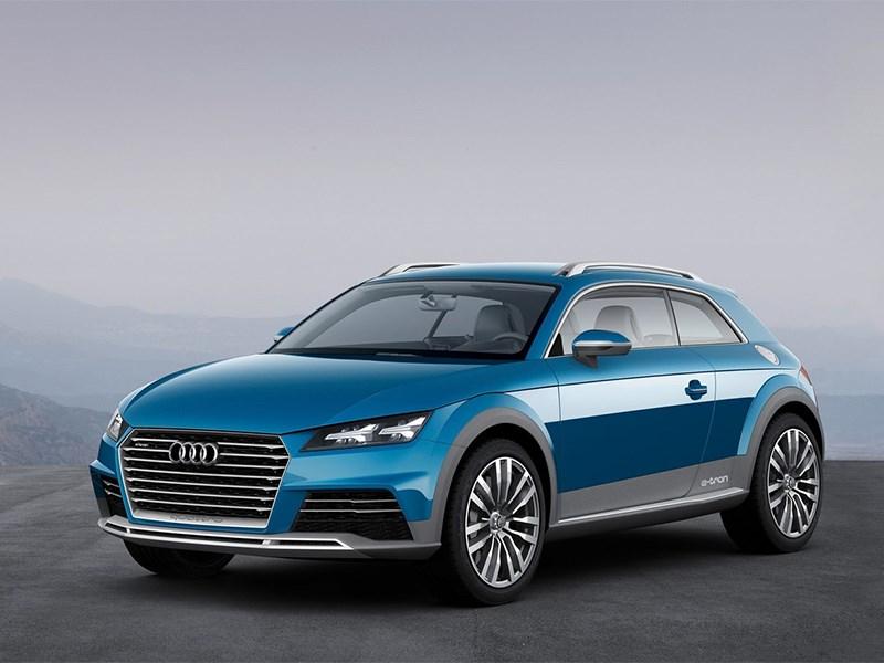 Audi Allroad Shooting Brake Concept 2014 вид спереди
