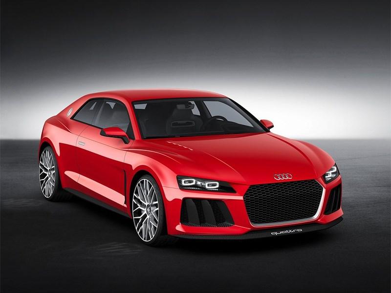 Новый Audi Sport quattro Laserlight - Audi Sport quattro Laserlight Concept 2014 основной вид