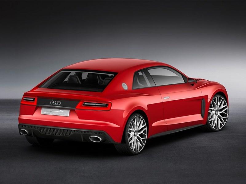 Audi Sport quattro Laserlight Concept 2014 вид сзади