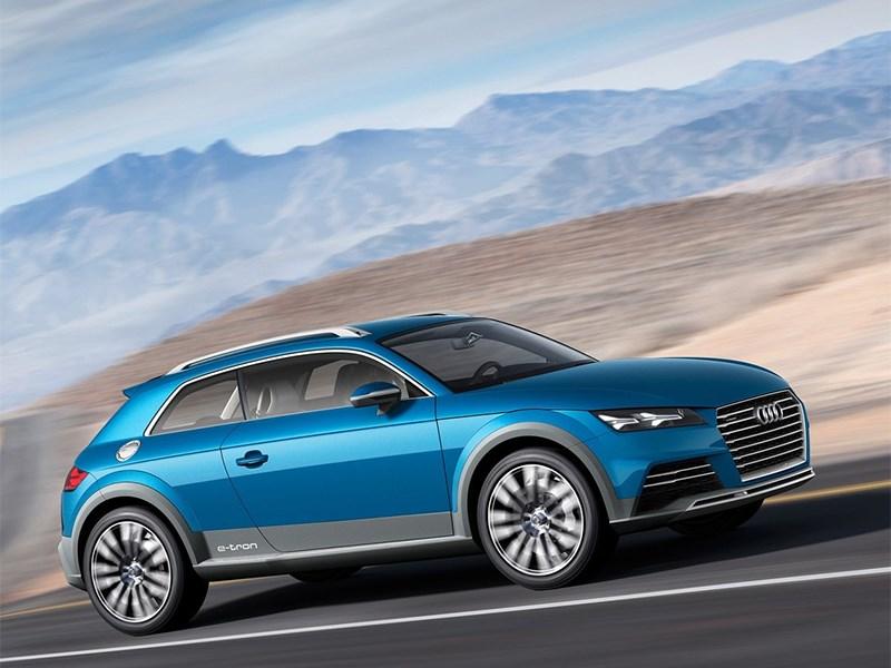 Audi Allroad Shooting Brake Concept 2014 вид сбоку