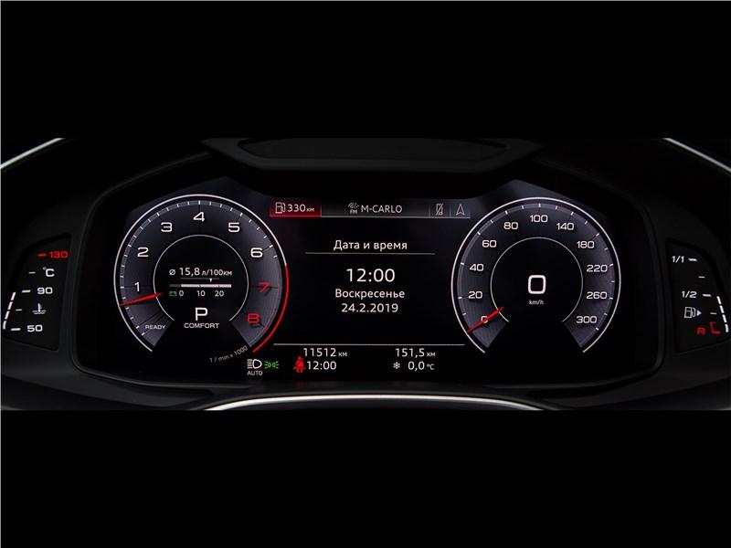 Audi A6 55 TFSI quattro 2019 приборная панель