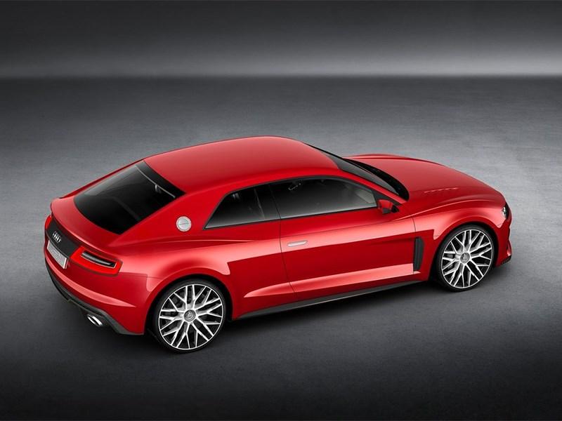 Audi Sport quattro Laserlight Concept 2014 вид сбоку