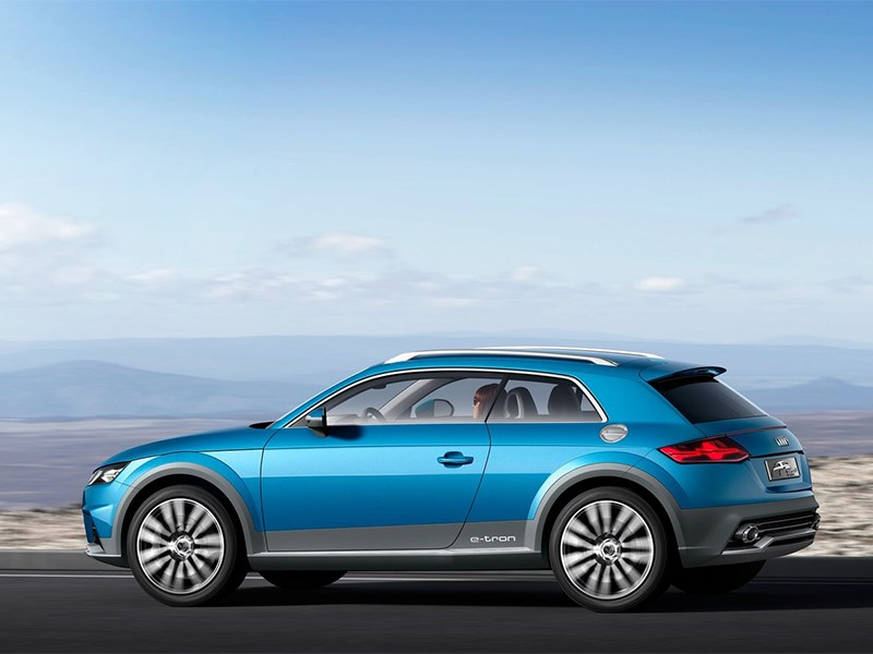 Audi Allroad Shooting Brake Concept 2014 вид сбоку фото 2