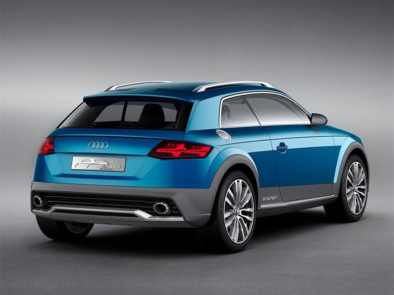 Audi Allroad Shooting Brake Concept 2014 вид сзади