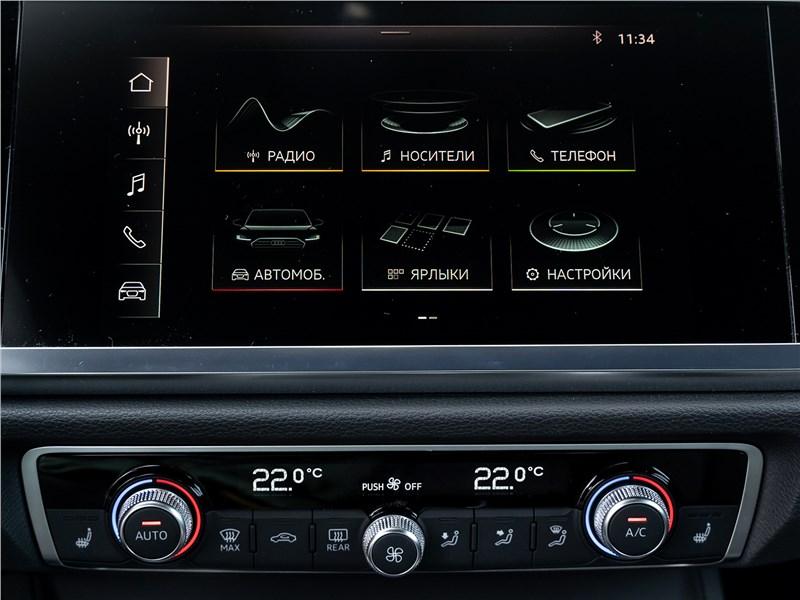 Audi Q3 2019 центральная консоль