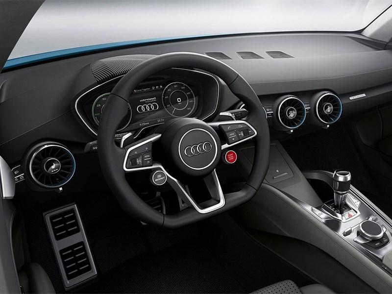 Audi Allroad Shooting Brake Concept 2014 водительское место