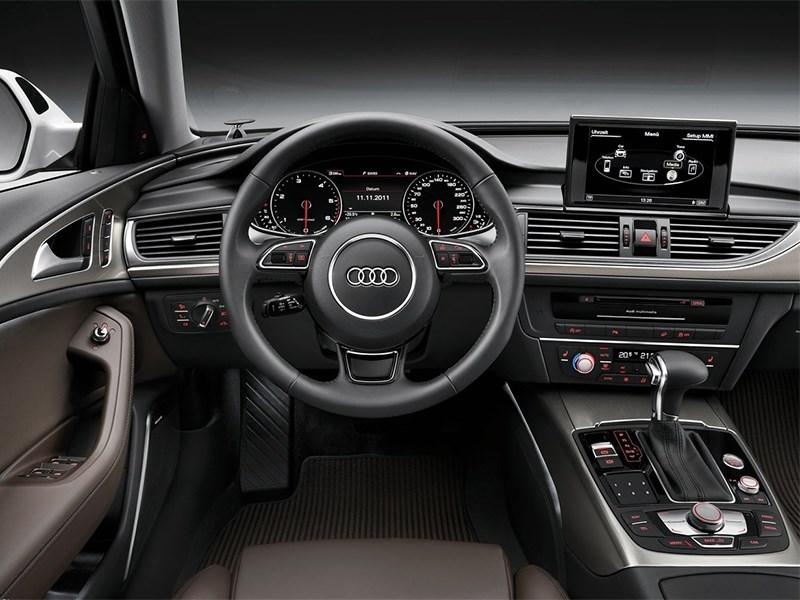 Audi A6 allroad quattro 2013 водительское место