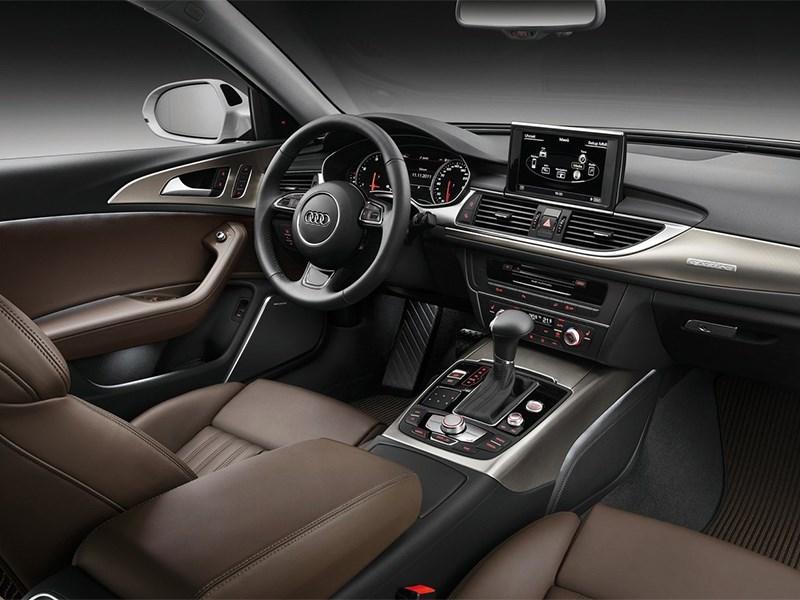 Audi A6 allroad quattro 2013 интерьер