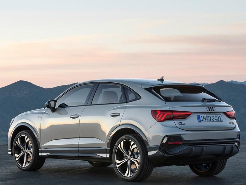 Audi представила кросс купе Q3 Sportback Фото Авто Коломна