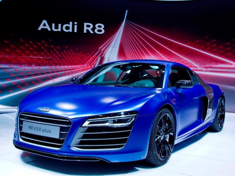 Стенд Audi на MMAC-2012 стал территорией спорта, скорости и технологий