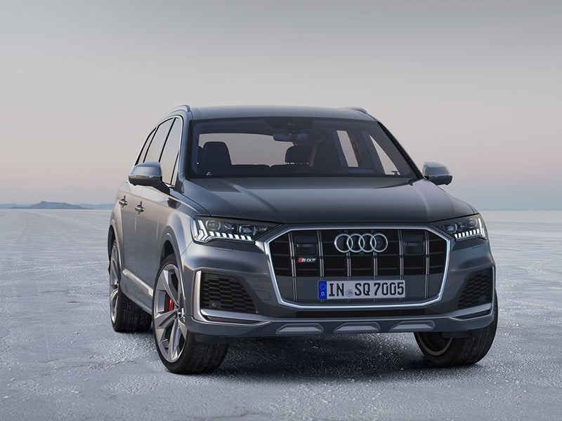 Audi рассекретила обновлённый SQ7 TDI Фото Авто Коломна