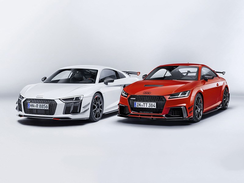 Спортивные Audi стали еще спортивнее