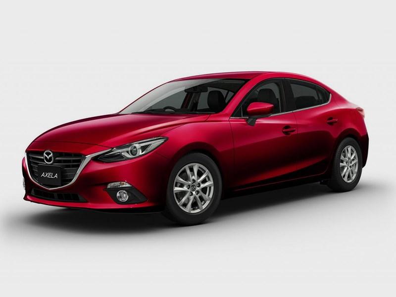 Новый Mazda Axela - Mazda Axela 2013 вид спереди 3/4