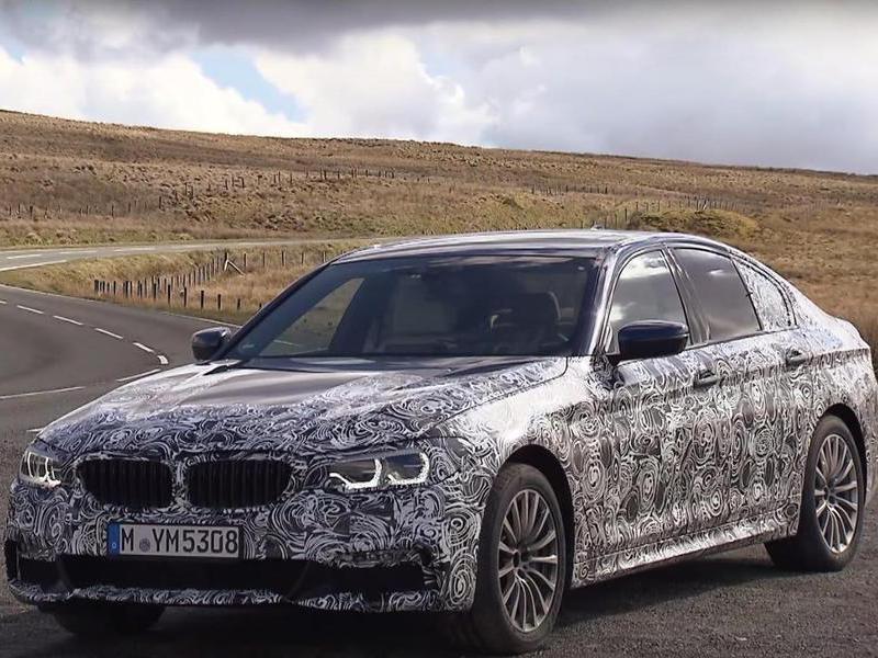 BMW назвал дату презентации нового 5-Series