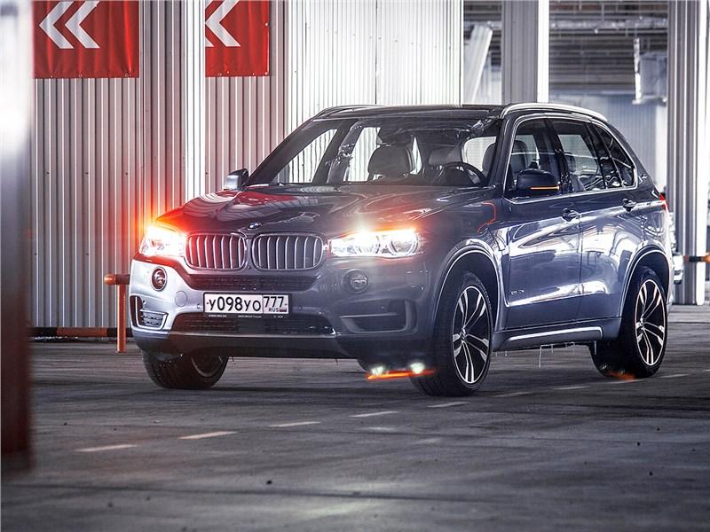 BMW X5 xDrive40e 2016 В мечтах о Калифорнии