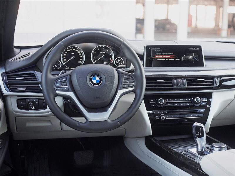 BMW X5 xDrive40e 2016 салон