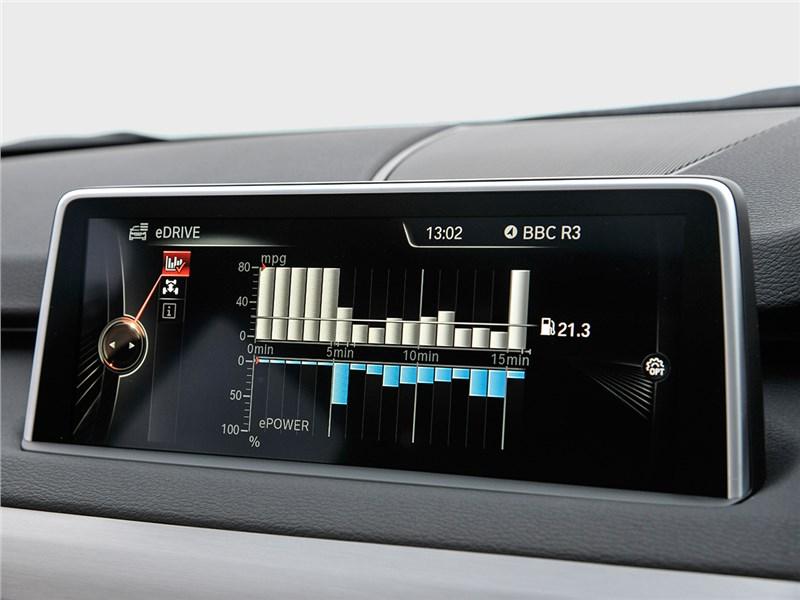 BMW X5 xDrive40e 2016 монтор