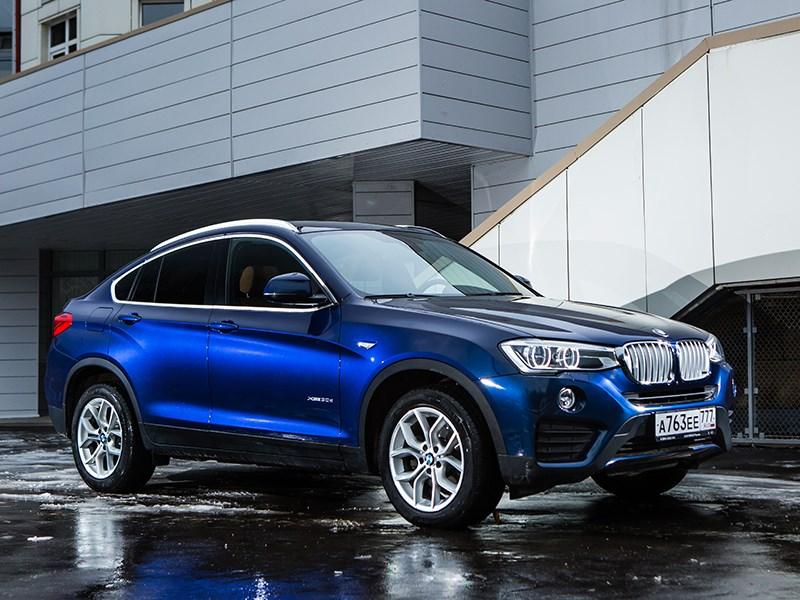 BMW X4 2014 вид спереди