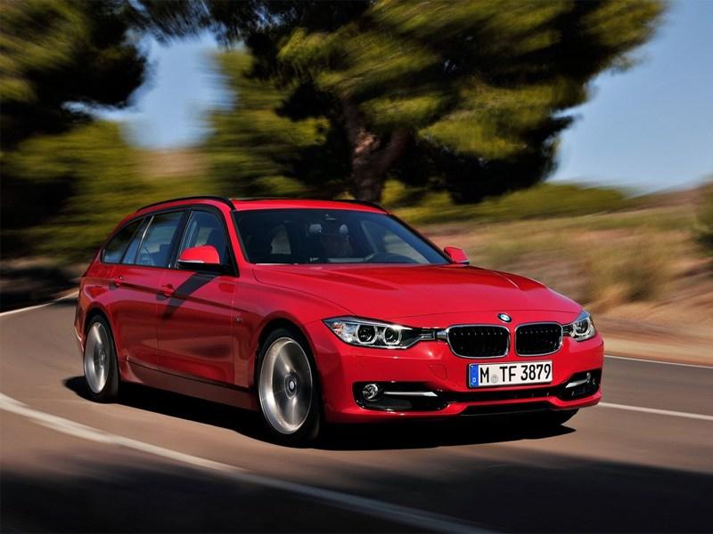 Новый BMW 3 series - BMW 3 series 2013 вид спереди