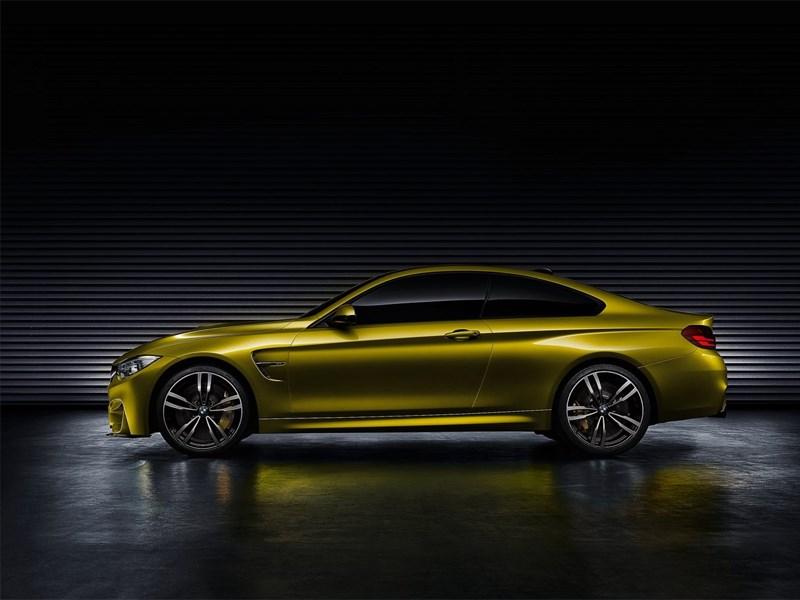BMW M4 concept 2013 вид боку