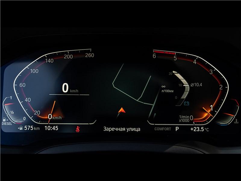 BMW 3-Series 2019 приборная панель