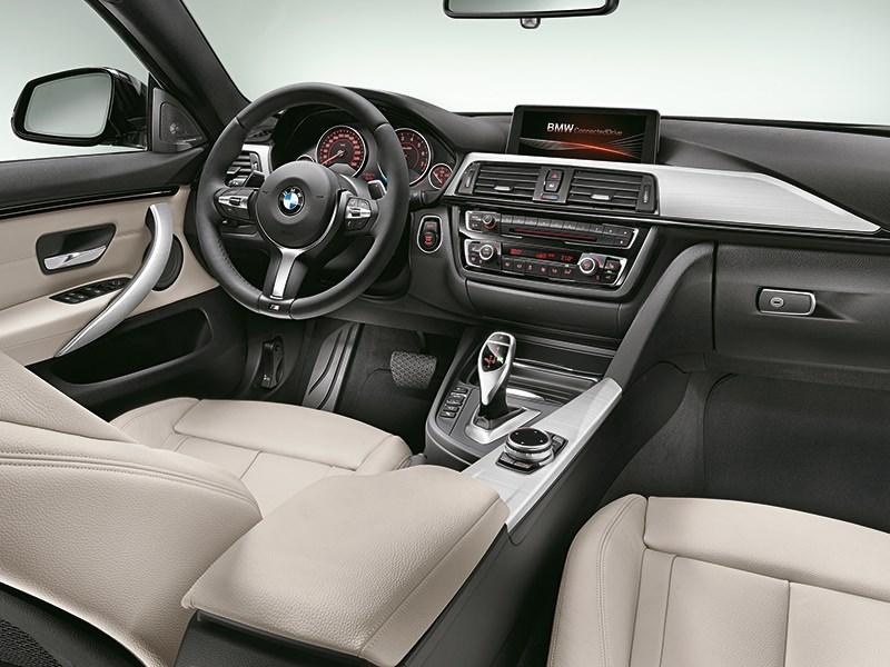 BMW 4 Series Gran Coupe 2014 водительское место