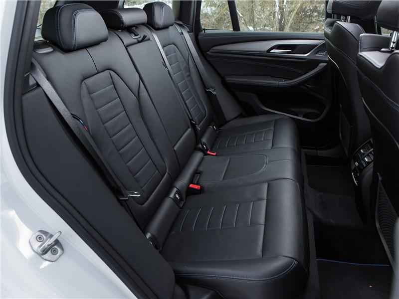 BMW X3 2018 задний диван