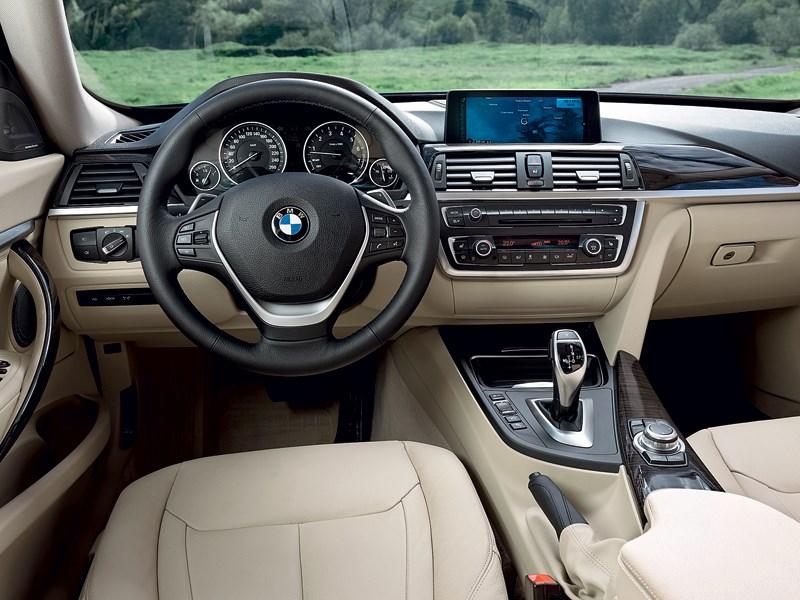 BMW 3 series GT 2013 водительское место