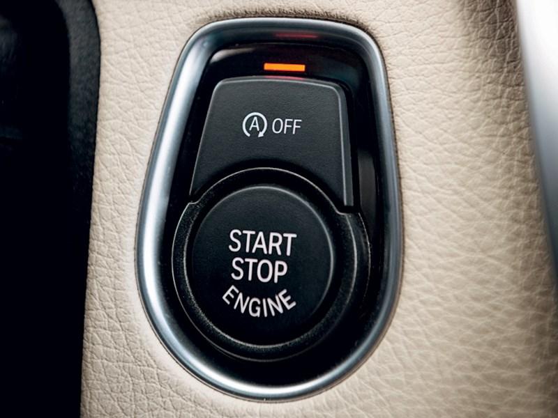 "BMW 3 series GT 2013 кнопка ""старт-стоп"""