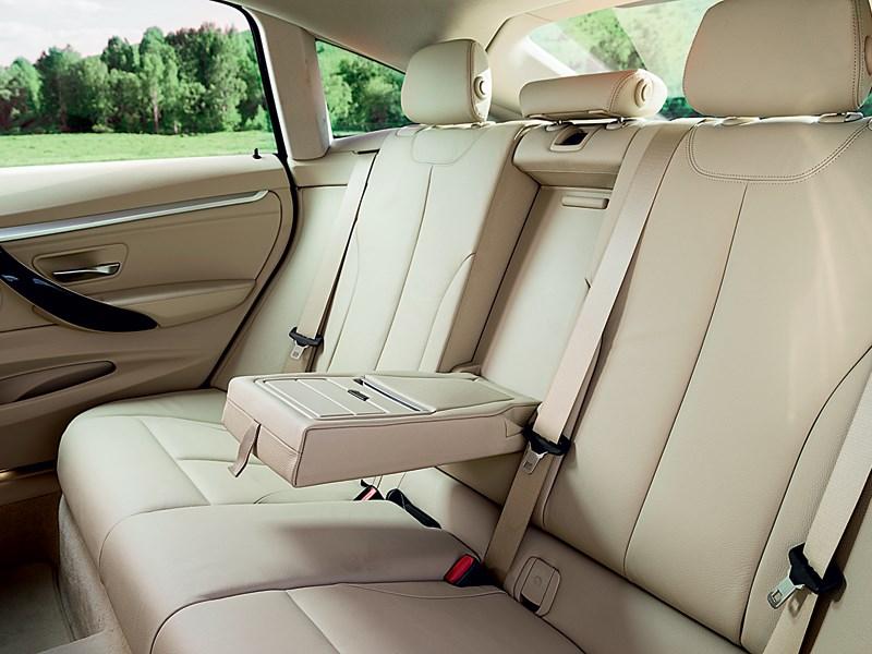 BMW 3 series GT 2013 задний диван