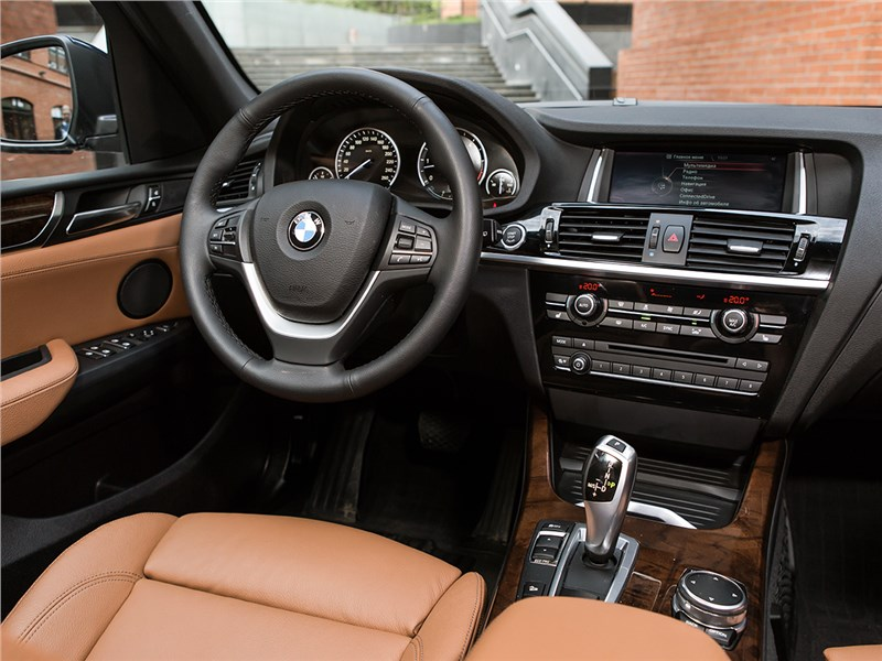 BMW X3 30d 2015 салон