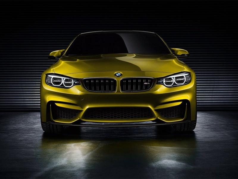 BMW M4 concept 2013 вид спереди