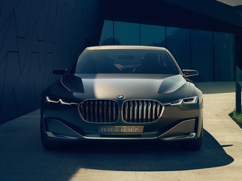 BMW Vision Future Luxury Concept 2014 вид спереди
