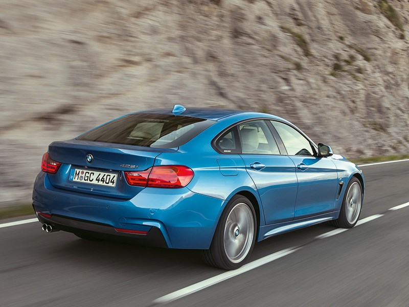 BMW 4 Series Gran Coupe 2014 вид сзади