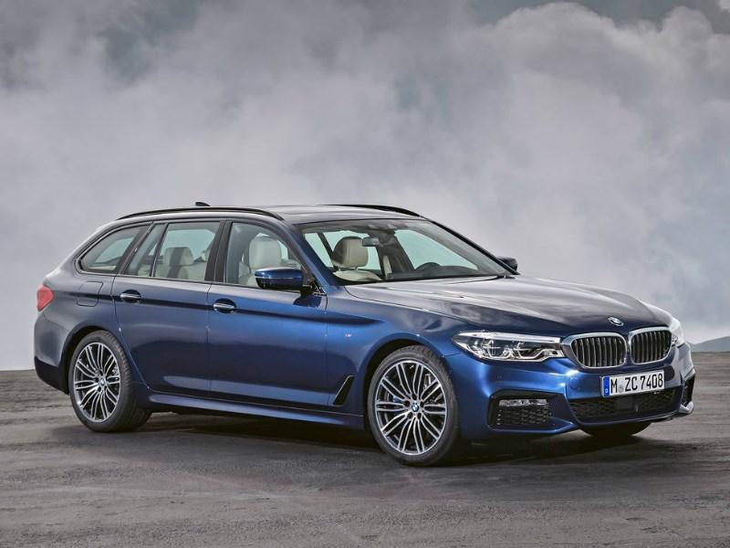 BMW представила новое поколение универсала 5-Series