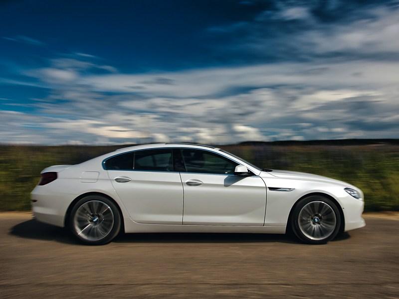 BMW 6 Series Gran Coupe 2012 вид сбоку