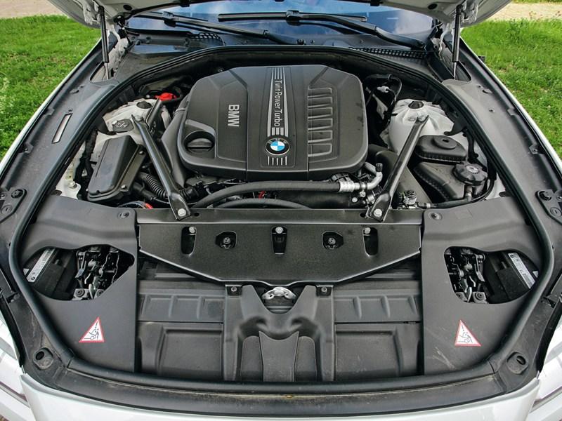 BMW 6 Series Gran Coupe 2012 двигатель