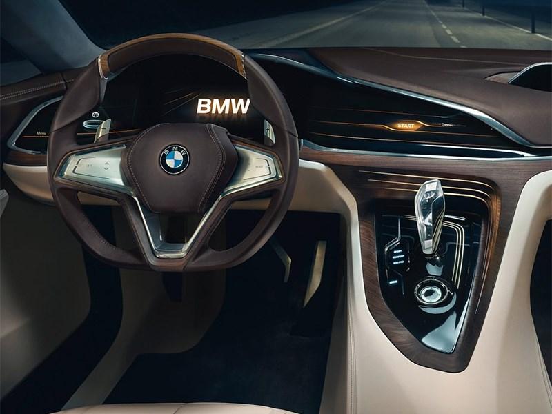 BMW Vision Future Luxury Concept 2014 водительское место