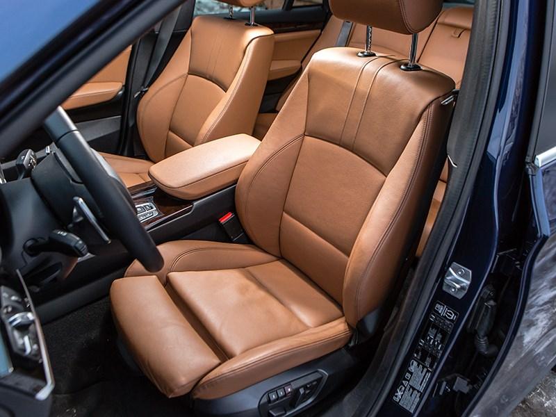 BMW X4 2014 передние кресла