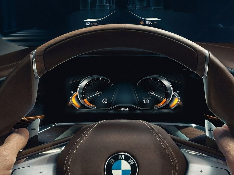 BMW Vision Future Luxury Concept 2014 приборная панель