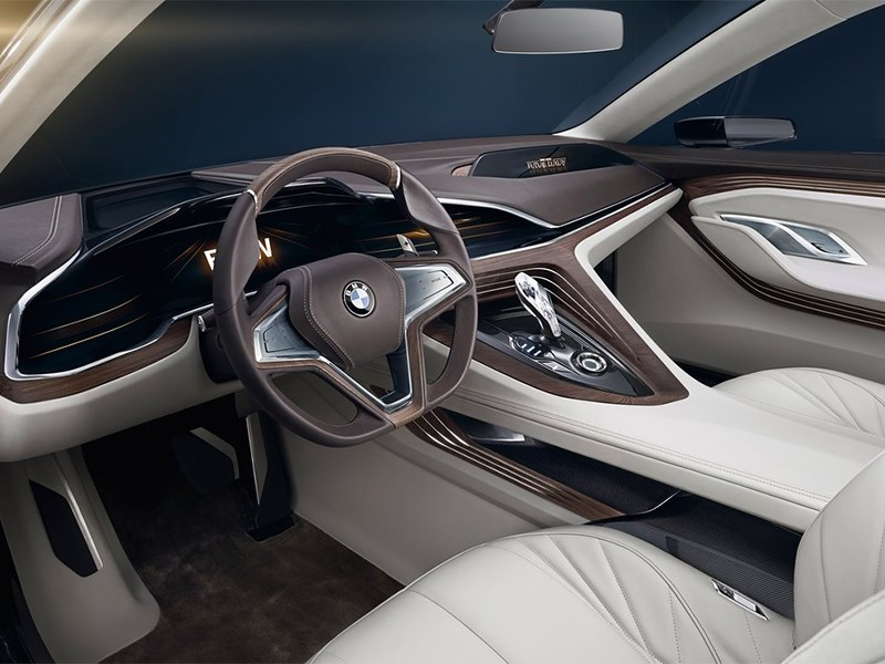 BMW Vision Future Luxury Concept 2014 передние кресла