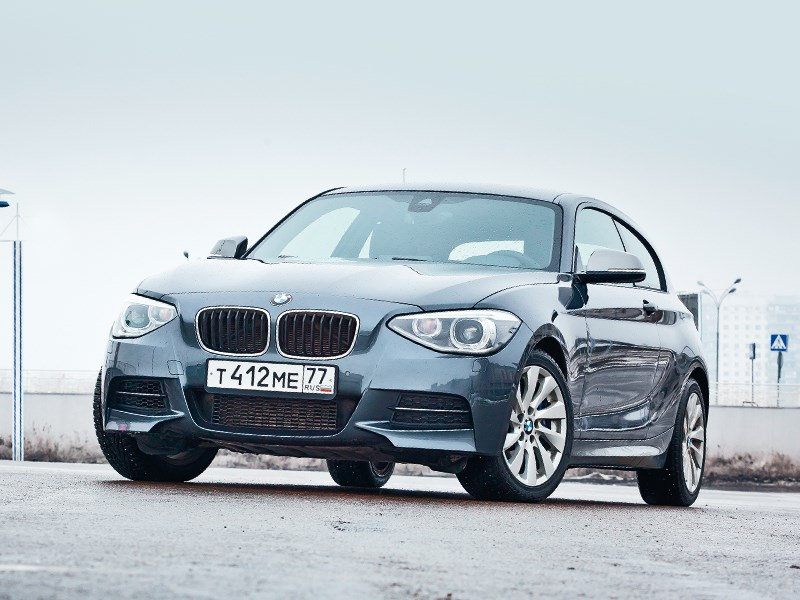 BMW 6 series - bmw m 135i xdrive 2013 вид спереди