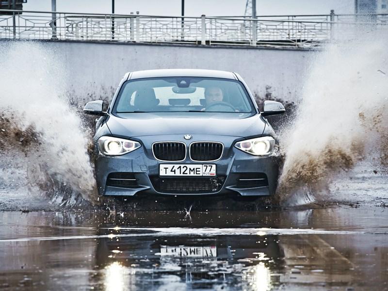 BMW M 135i xDrive 2013 вид спереди