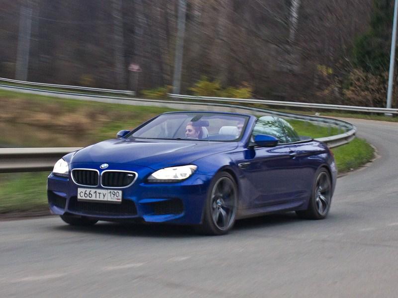 BMW M6 Cabrio 2012 вид спереди
